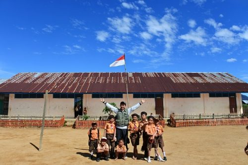 初 海外旅行 インドネシア